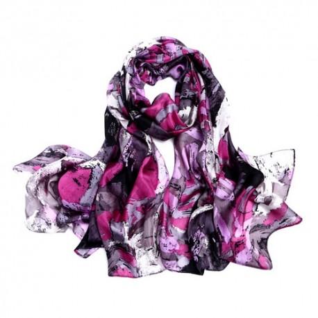 Hedvábný šátek SPAJ03B