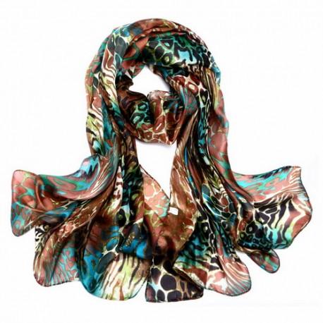 Hedvábný šátek SPAJ08C