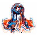 Hedvábný šátek SPAJ09A
