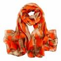 Hedvábný šátek SPAJ010B