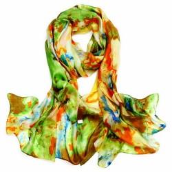 Hedvábný šátek SPAJ012A