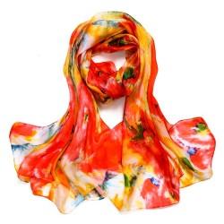 Hedvábný šátek SPAJ012C