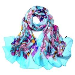 Hedvábný šátek SPAJ013D